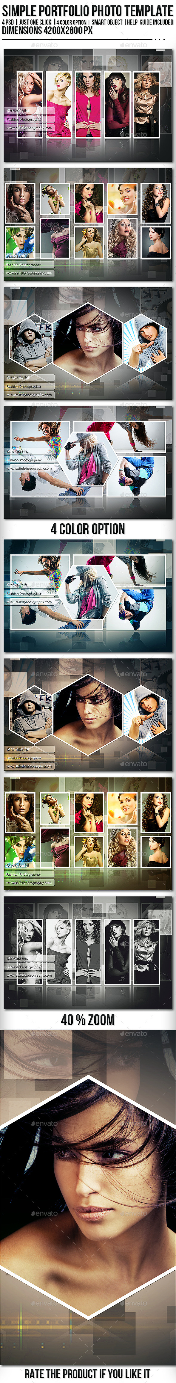 GraphicRiver Simple Portfolio Photo Template 10679264