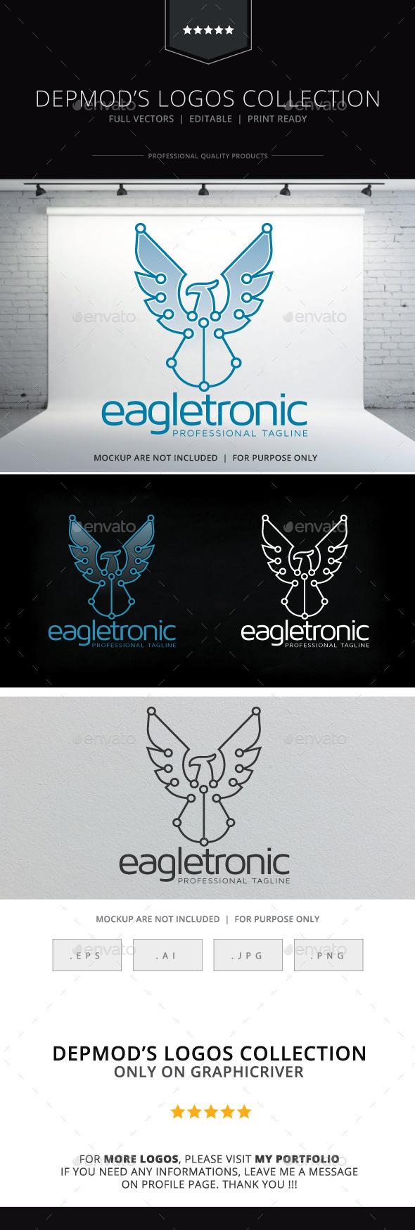 GraphicRiver Eagletronic Logo 10679434