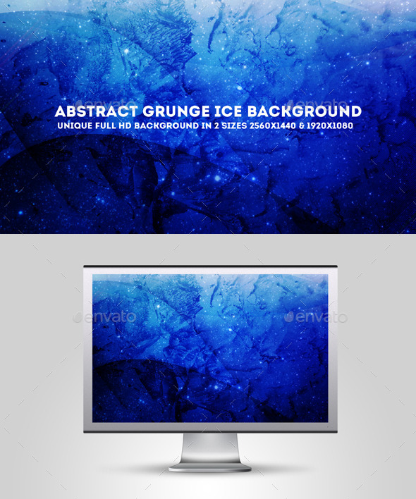 GraphicRiver Abstract Grunge Ice Background 10679639