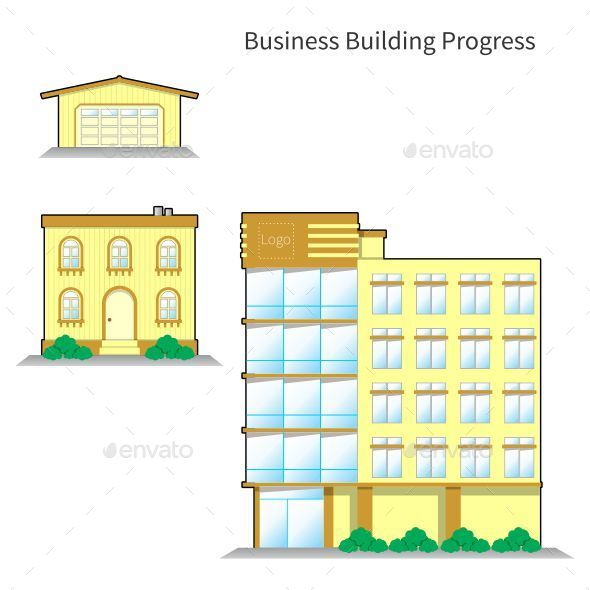 GraphicRiver Business Building Progress 10679831