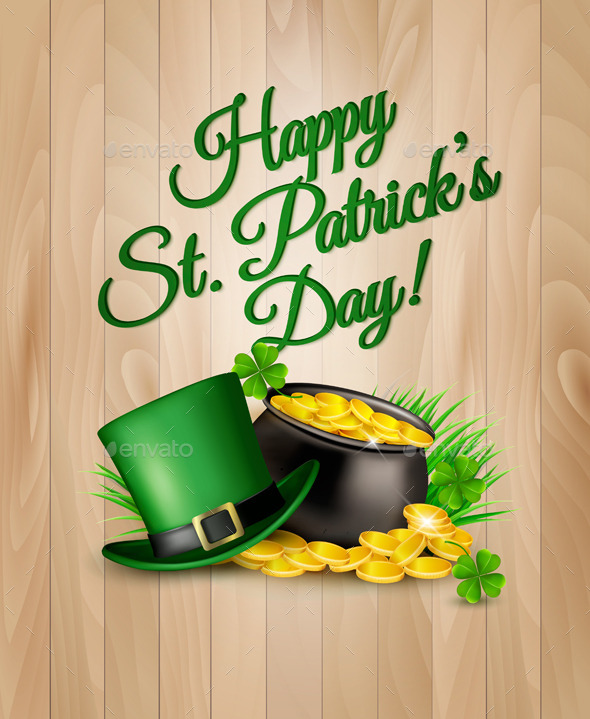 GraphicRiver St Patricks Day Background 10679859