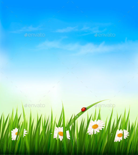 GraphicRiver Spring Background 10679935