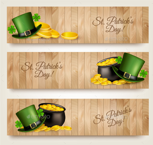 GraphicRiver Three Saint Patricks Day 10679941