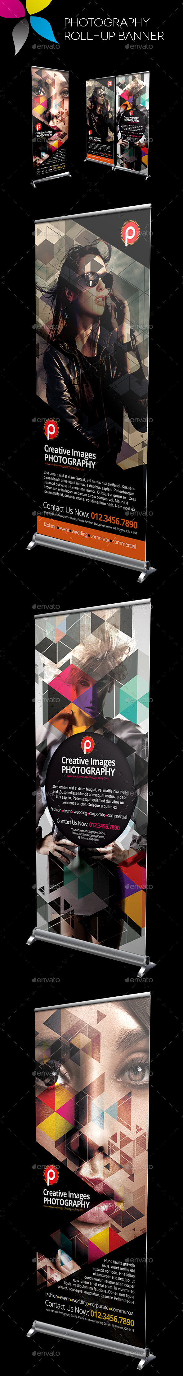 GraphicRiver Photography Roll-Up Banner 10680028