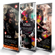 Photography Roll-Up Banner - GraphicRiver Item for Sale