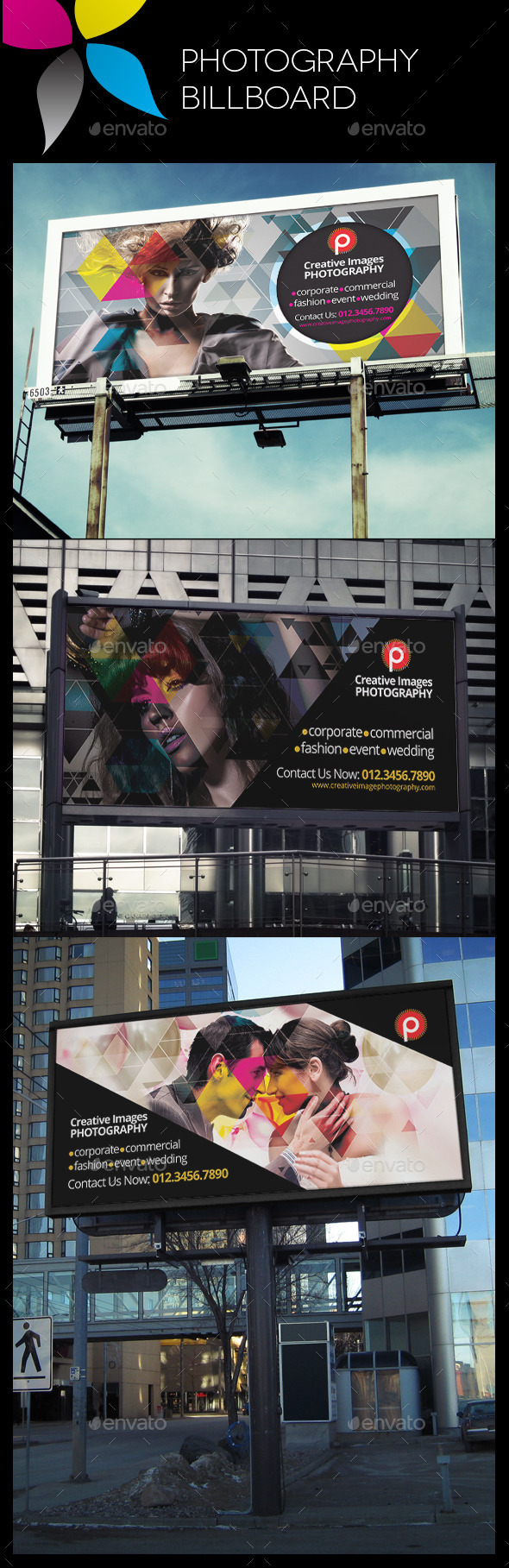 GraphicRiver Photography Billboard 10680131