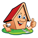 Cartoon House Logo - GraphicRiver Item for Sale