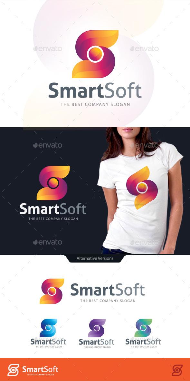 GraphicRiver Smart Software Letter S Logo 10680371