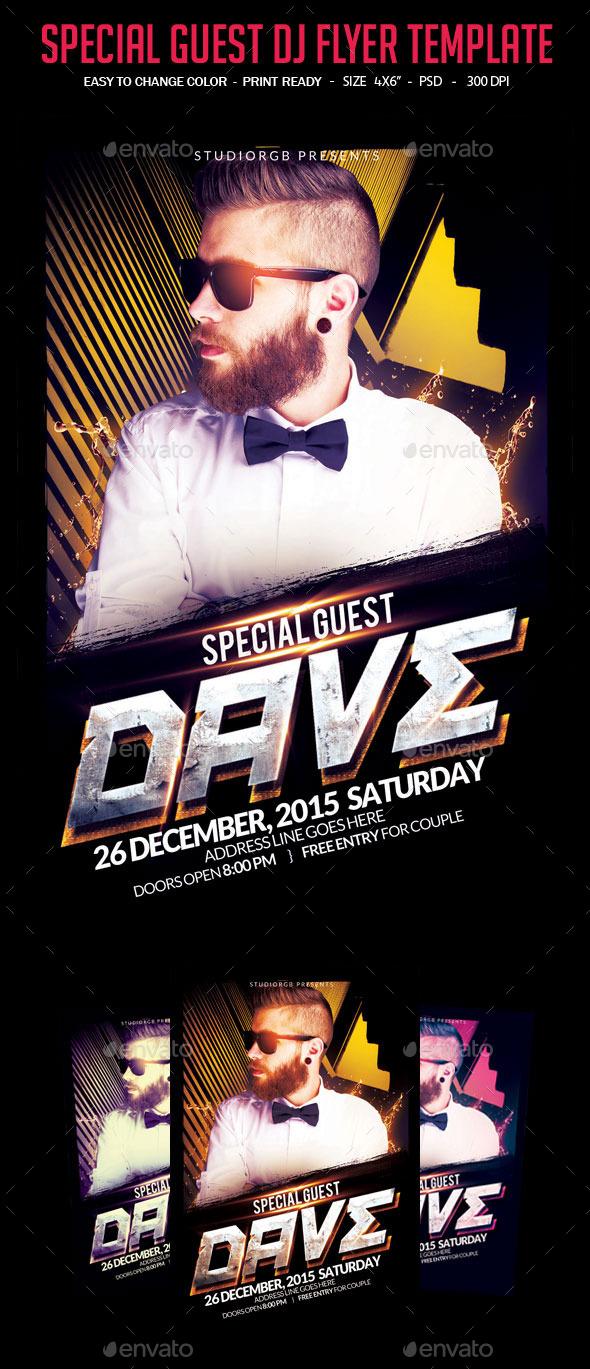GraphicRiver Special Guest DJ 10680414