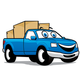 Cartoon Truck Logo - GraphicRiver Item for Sale