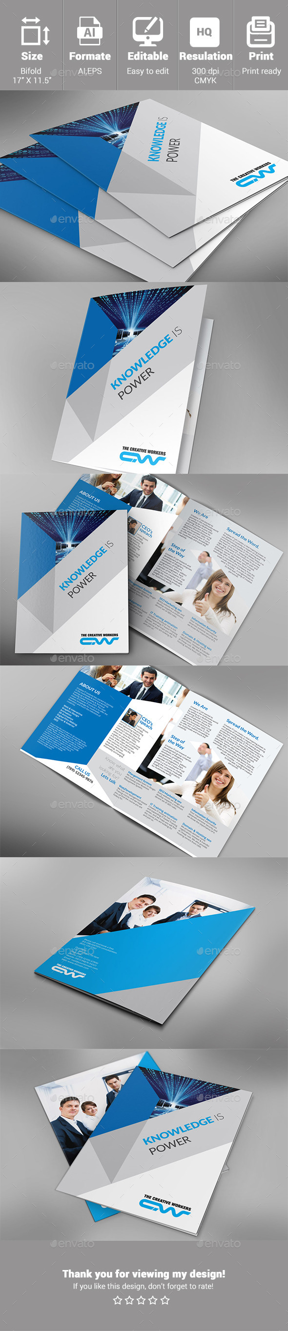 GraphicRiver multipurpose IT-Training 10607663