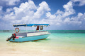 sub charter boat on the sea in mautitius tropical island - PhotoDune Item for Sale