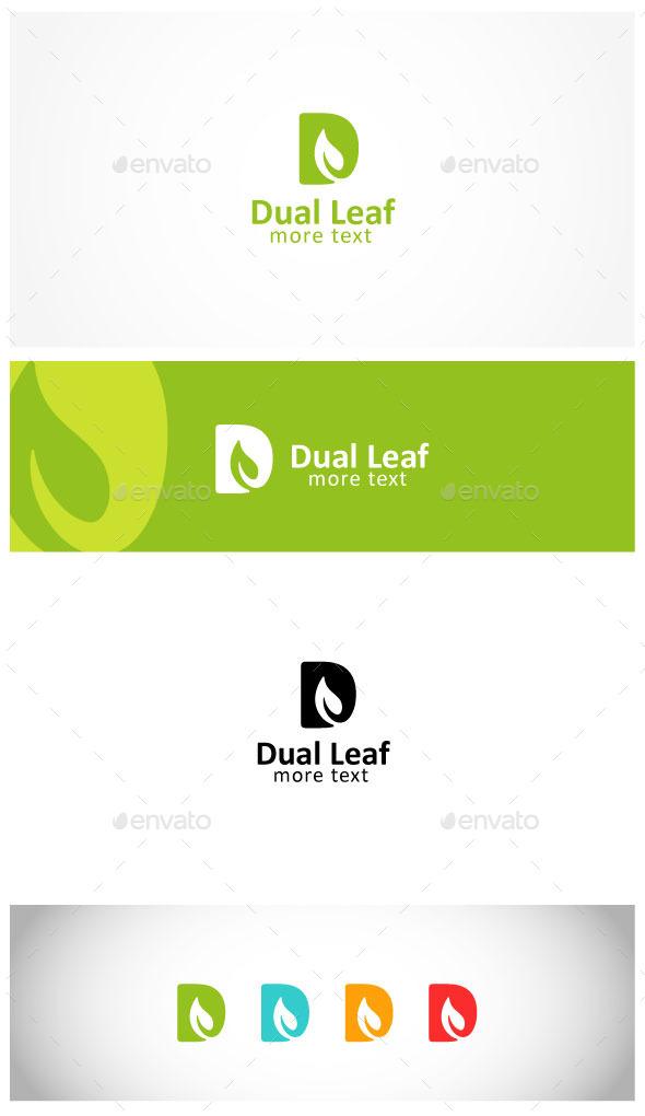 GraphicRiver Leaf Letter D Logo 10680819