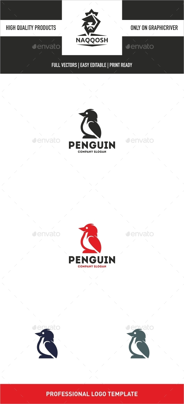 GraphicRiver Penguin 10681142