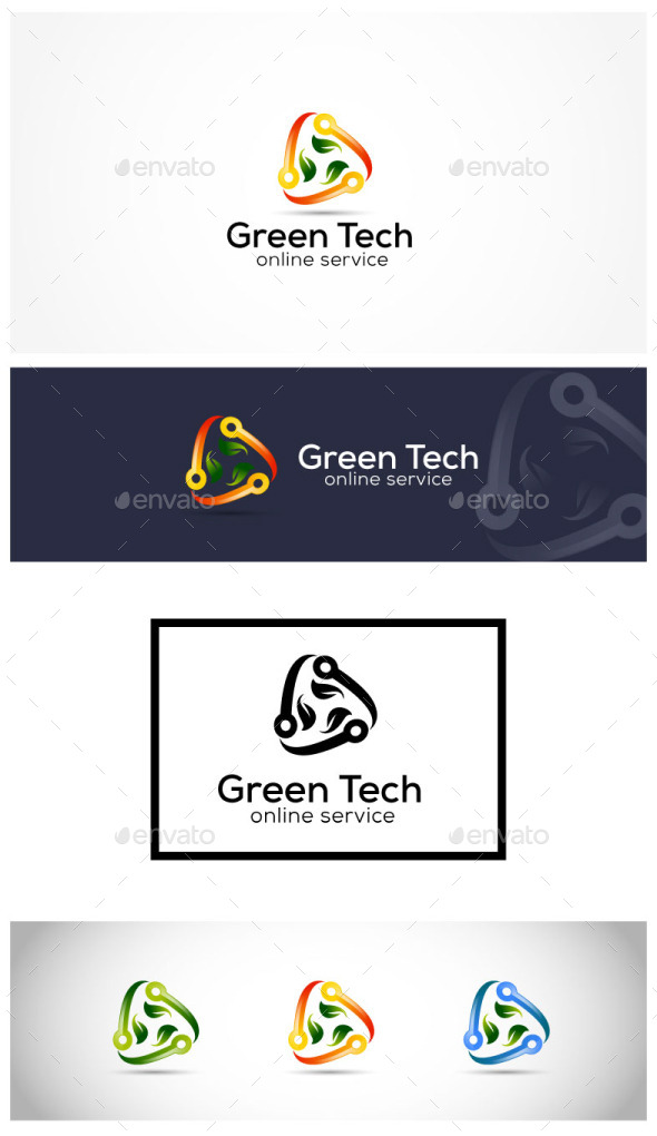 GraphicRiver Green Technology 10681166
