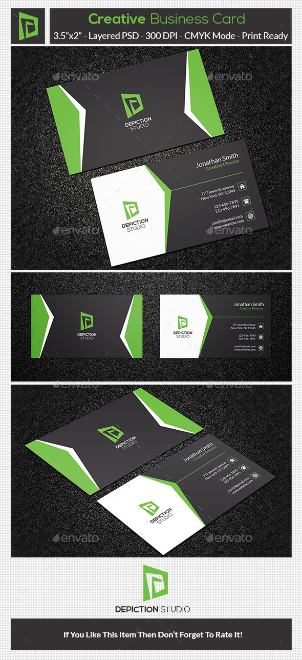 GraphicRiver Creative Business Card 10681182