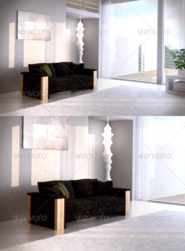 3DOcean FrommHolz Montanar sofa 87480