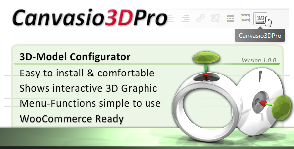 CodeCanyon Canvasio3DPro 3D-Model Configurator 10631027