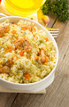 bowl full of rice on wood - PhotoDune Item for Sale
