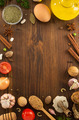 herbs and spices on wood - PhotoDune Item for Sale