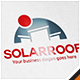 Solar Cell Roof Logo - GraphicRiver Item for Sale