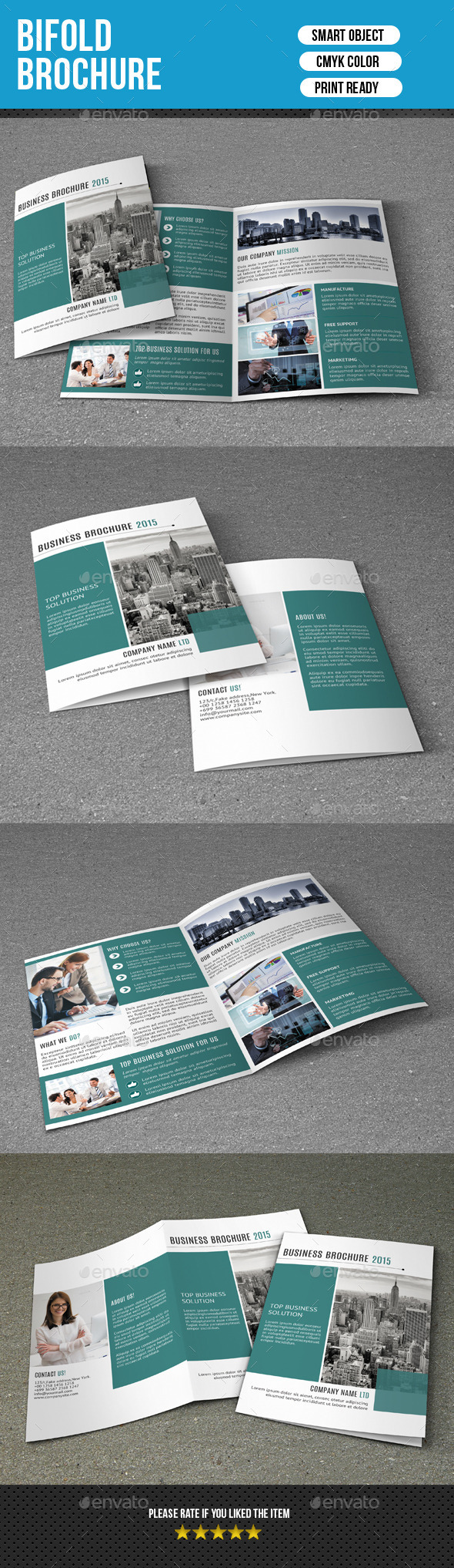 GraphicRiver 4 Pages Business Brochure-V223 10682991
