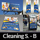 Cleaning Services Advertising Bundle Vol.2 - GraphicRiver Item for Sale