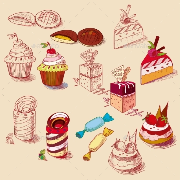 GraphicRiver Pastry Bakery 10683298