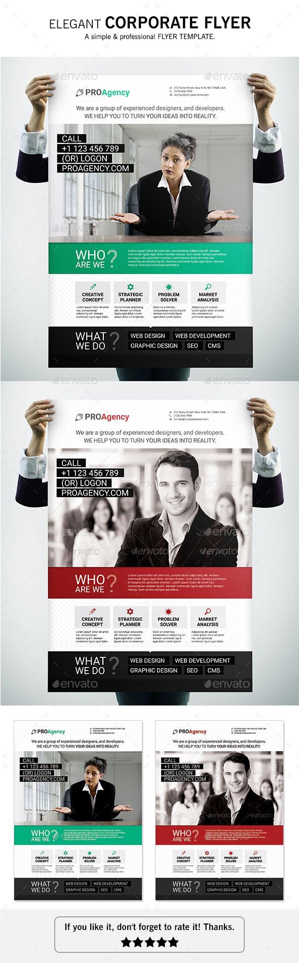 GraphicRiver Corporate Flyer 10683348