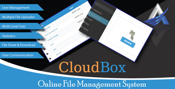 CodeCanyon CloudBox Online File Management System 10617330