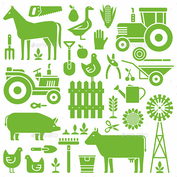GraphicRiver Farm Pattern 10683894