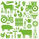 Farm Pattern - GraphicRiver Item for Sale