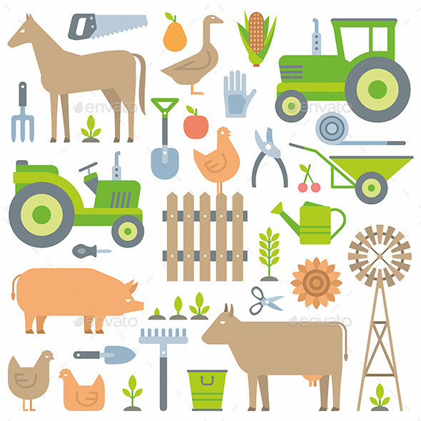 GraphicRiver Farm pattern 10683898