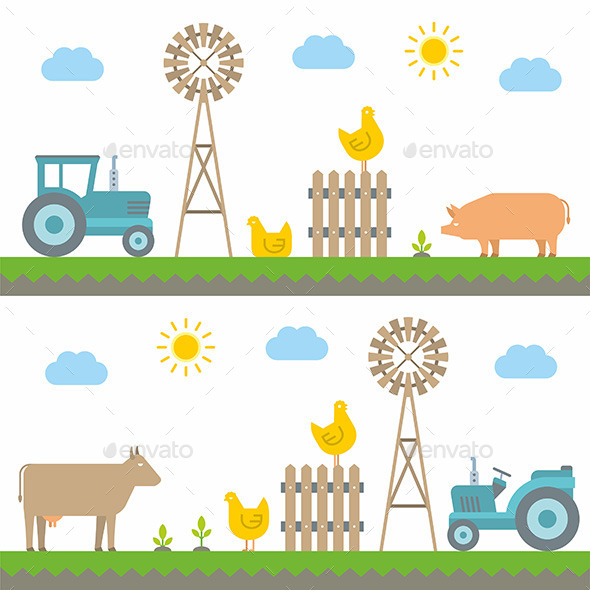 GraphicRiver Farm 10683956