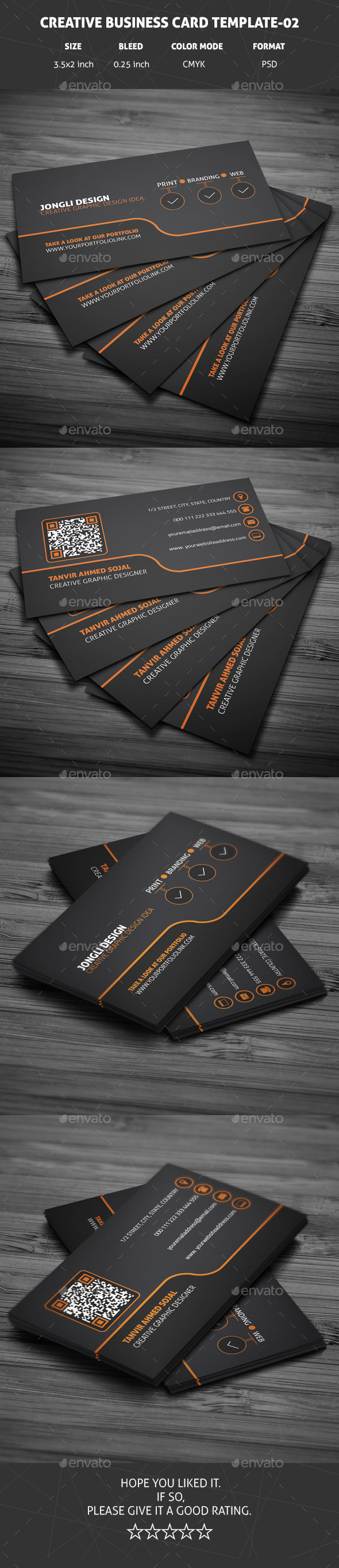 GraphicRiver Creative Business Card Template 02 10684023