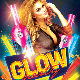 Glow Party Template PSD Flyer/Poster - GraphicRiver Item for Sale