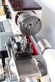 Closeup of a lathe machine - PhotoDune Item for Sale