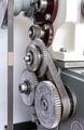 Metal cogwheels of lathe - PhotoDune Item for Sale