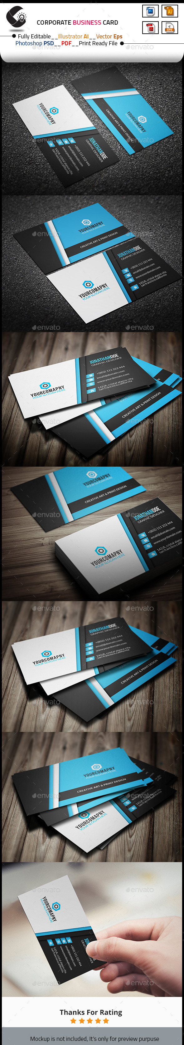 GraphicRiver Creative Business Card Template 10684878