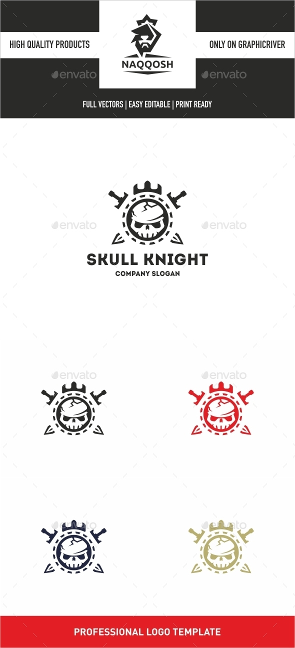 GraphicRiver Skull Knight 10685044