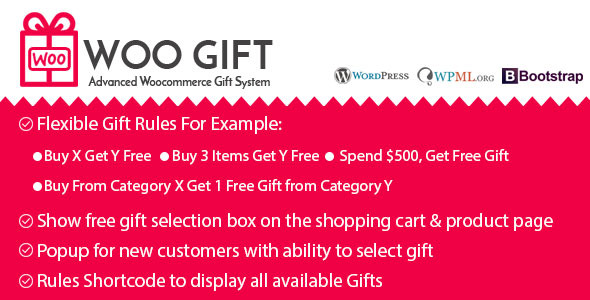 Woo Gift : Advanced Woocommerce Gift Plugin