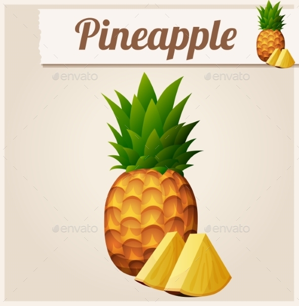 GraphicRiver Pineapple 10685096