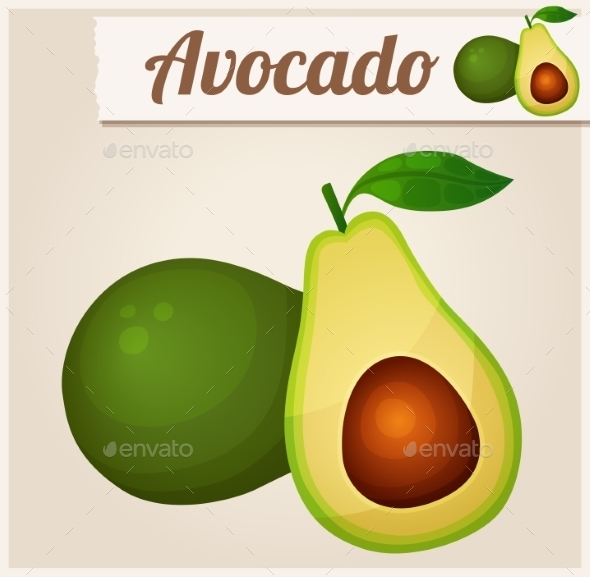GraphicRiver Avocado 10685150