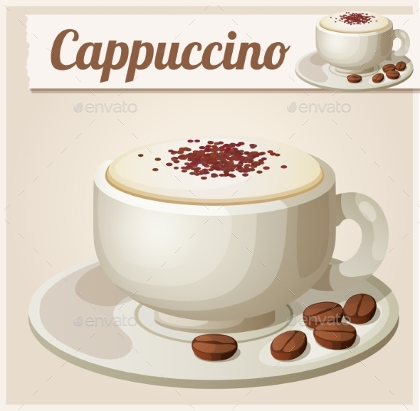 GraphicRiver Cup of Cappuccino 10685151