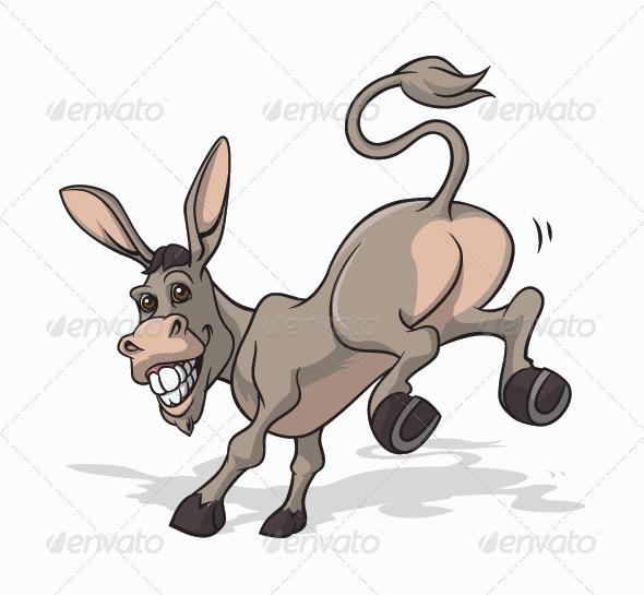 Donkey - Animals CharactersDonkey Bum