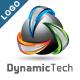 Dynamic Tech - 3D Logo