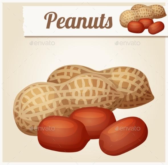 GraphicRiver Peanuts Detailed Vector Icon 10685258