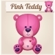 Pink Teddy Bear. - GraphicRiver Item for Sale