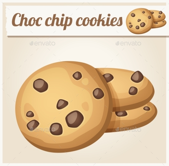 GraphicRiver Chocolate Chip Cookies 10685522