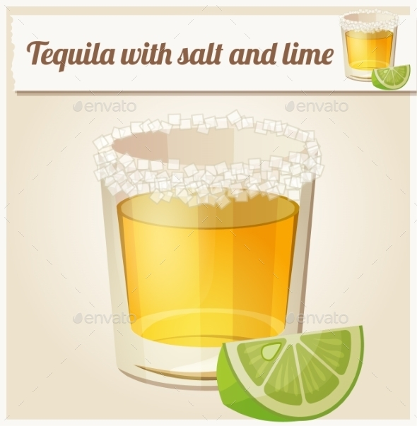 GraphicRiver Tequila with Salt and Lime 10685523